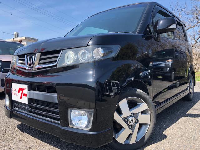 ホンダ ゼストスパーク W 車検整備付 後期型 タイミングベルト交換済 スマートキー オートエアコン エアバック バックカメラ CDプレイヤー キセノンライト フォグランプ 純正14インチアルミホイール リアスポイラー ABS