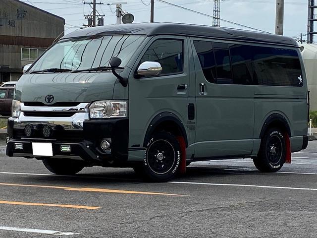 トヨタ ロングスーパーGL ワイドミドルルーフ HDDナビ ETC
