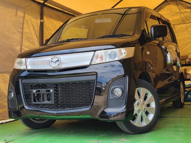 マツダ AZワゴン XS 車検5年6月 プッシュスタート ワンオーナー ディスチャージヘッドライト