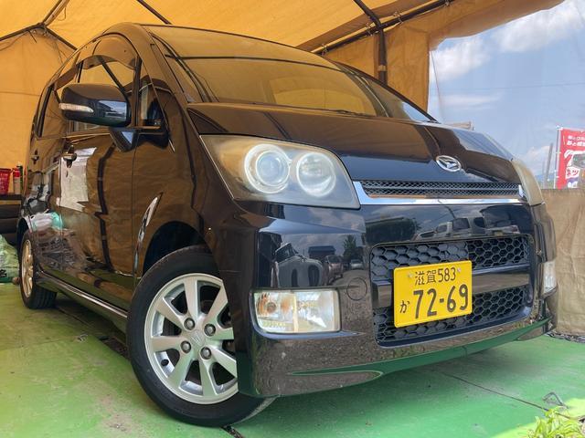 ダイハツ Xリミテッド 車検4年7月 HIDヘッドライト キーフリー オートエアコン   オーバヘッドコンソール