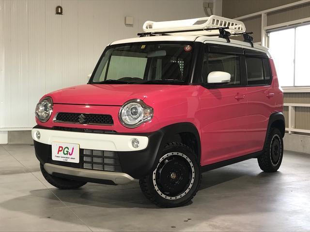 スズキ Xターボ 4WD ターボ リフトアップ フルセグ ナビ デュアルカメラブレーキサポート シートヒーター アイドリングストップ
