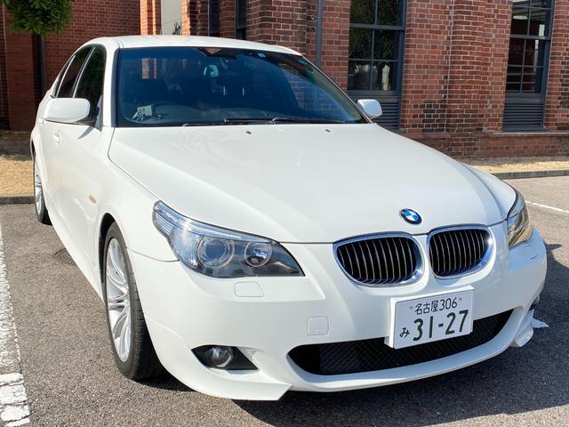 BMW 525i Mスポーツパッケージ 走行 38000 km Mトランクスポイラー ドライブレコーダー ETC ウッドパネル 外装コーティング 内装クリーニング済み 禁煙車