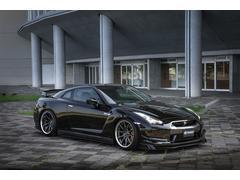 GT−Rブラックエディション KRUISEエアロ BLITZ車高調 KUHLオリジナルスラッシュ4テールマフラー VERZ20インチAW メモリーナビ バックカメラ ETC