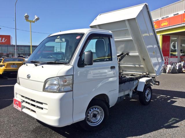 ダイハツ ハイゼットトラック エアコン・パワステ スペシャル 極東製清掃ダンプユニット リア観音 4WD 5MT