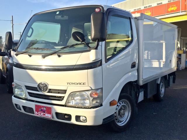 トヨタ トヨエース  冷蔵冷凍車 TECS-7℃設定表示 積載1トン ディーゼルターボ オートマ車 総重量3.5トン未満