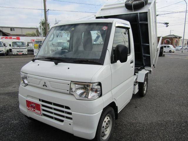 三菱 ミニキャブトラック ダンプ PTOダンプ 5MT 4WD ETC付き