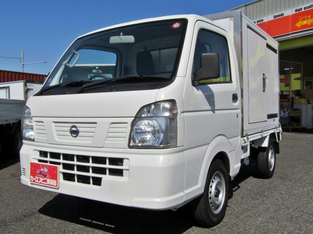 日産  IZUMI製保冷車 木製スノコ エアコン パワステ 5MT 4WD