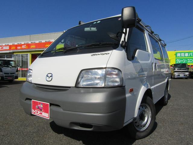 マツダ ボンゴバン DX ナビTV ルーフキャリア パートタイム4WD オートマ車 積載950kg