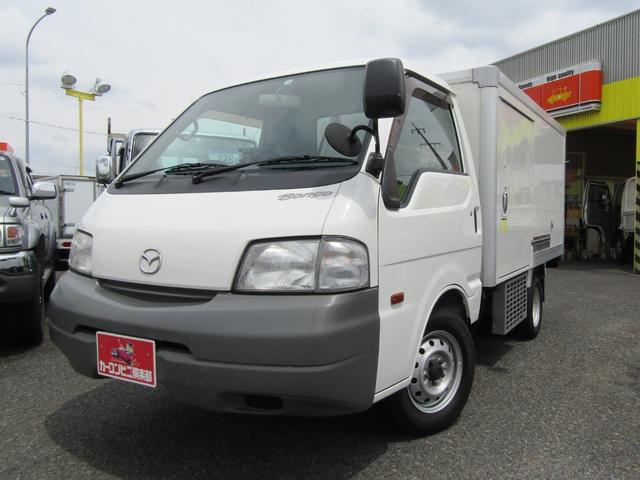 マツダ ボンゴトラック  -22℃設定表示冷蔵冷凍車 ナビTV 左サイドドア 樹脂スノコ 5MT 積載900kg