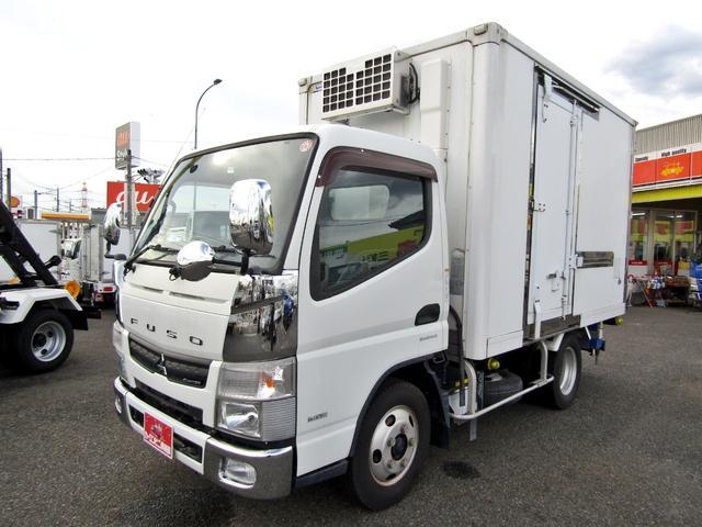 三菱ふそう キャンター  -30度設定低温冷蔵冷凍車 スタンバイ電源 ラッシングレール2段 ナビ バックカメラ オートマ車 積載2トン