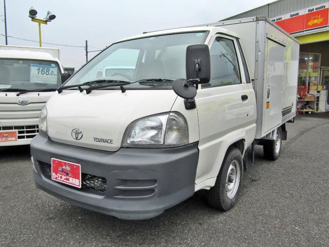 トヨタ  -7度設定中温冷凍冷蔵車 左サイドドア 木製スノコ オートマ TECS車両 積載700KG