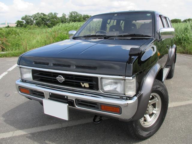 日産 テラノ V6-3000 ワイドR3M Nox適合全国登録可能 サンルーフ