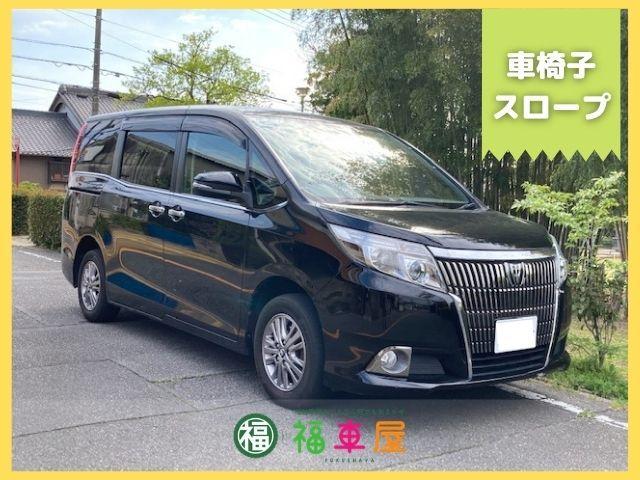トヨタ エスクァイア Xi Xi 8人 車椅子スロープ ウェルキャブ 電動スロープ 車椅子固定装置 キーレス LED アルミ 純正ナビ リアオートエアコン 福祉車両 介護車両