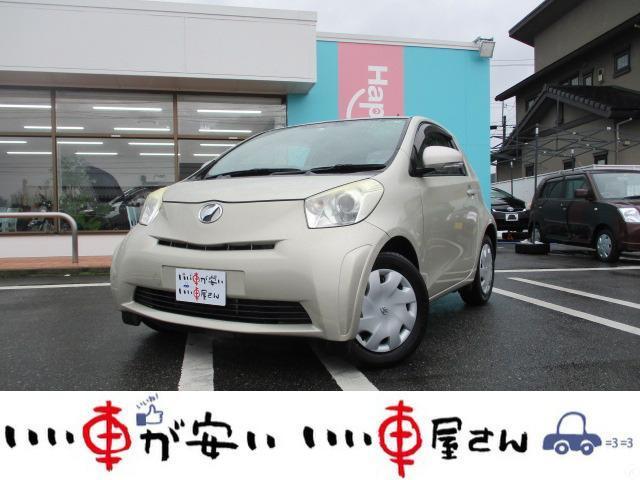 トヨタ iQ 100X 2シーター 禁煙車 SDナビ ワンセグ ABS ETC CD再生 DVD再生 取扱説明書 キーレス