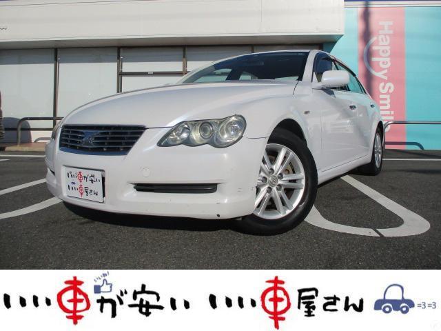 トヨタ マークX 250Gプライムセレクション 禁煙 DVDナビ Bカメ ETC パワーシート