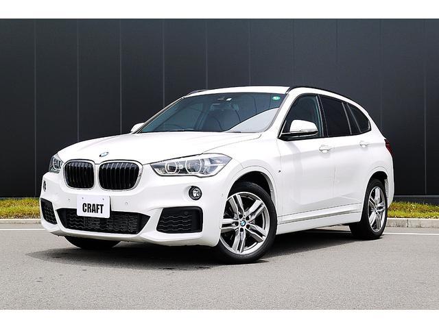 BMW X1 xDrive 18d Mスポーツ ワンオーナー/LEDヘッドライト/18インチアルミ/アルカンターラコンビシート/オートライト/純正HDDナビ/純正ETC/バックカメラ