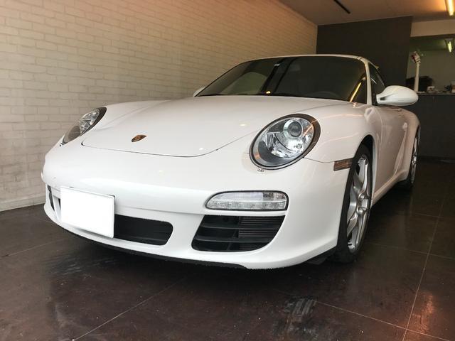 ポルシェ 911カレラS 正規ディーラー車 左ハンドル HDDナビ