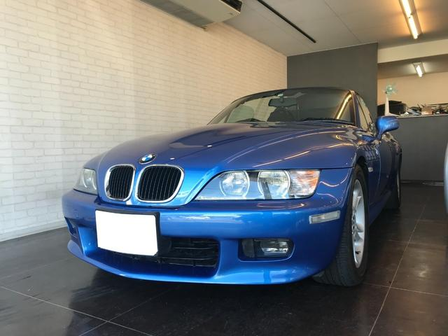 BMW Z3ロードスター 2.0 リミテッドエディション 300台限定車 Mスポーツステアリング エストリルブルー ダークブルー幌 レザーシート
