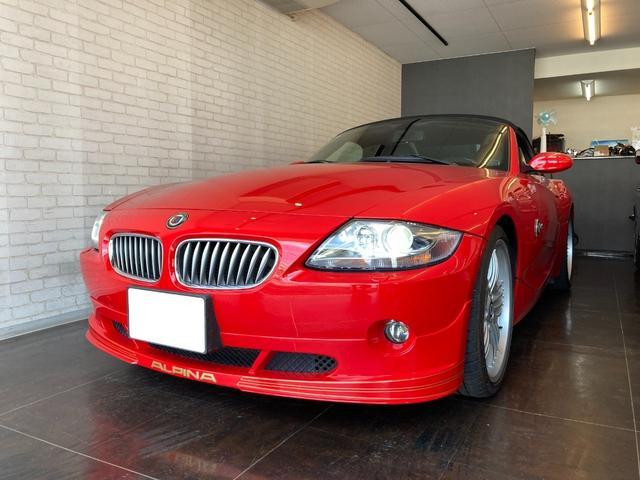 BMWアルピナ ロードスターS ベースグレード ハードトップ付き ガレージ保管 記録簿あり MT6速