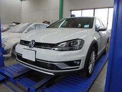 VW ゴルフオールトラックTSI 4モーション アップグレードパッケージ 純正ナビTV
