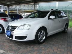 VW ゴルフヴァリアントTSI トレンドライン アルミホイール インダッシュナビ