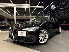 アルファロメオ ジュリアスーパー 1オーナー 新車保証継承 ETC フロアマット付き