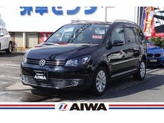 VW ゴルフトゥーランTSI ハイライン 禁煙車 SDナビ 地デジTV キセノン