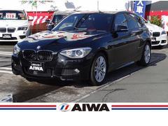 BMW116i Mスポーツ 赤革シート 禁煙車 純正ナビ