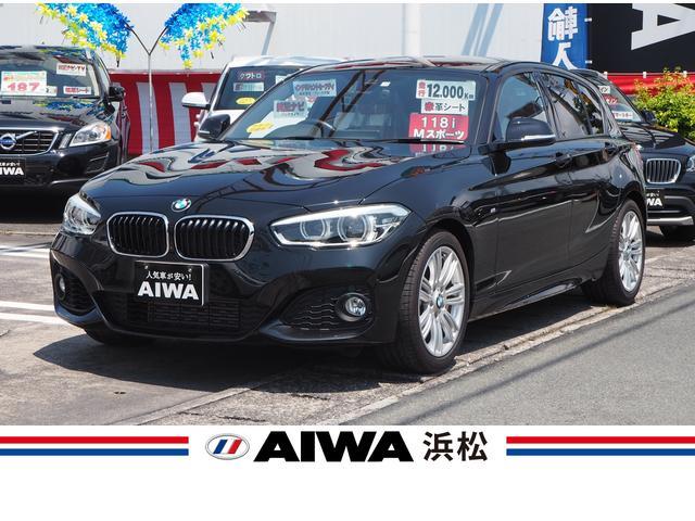 BMW 118i Mスポーツ 赤革シート ワンオーナー 禁煙車