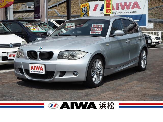 BMW 1シリーズ 130i Mスポーツ 純正ナビ 黒革シート シートヒーター