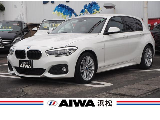 BMW 1シリーズ 118i Mスポーツ 禁煙車 インテリジェントセーフティ レーンディパーチャーウォーニング 純正ナビ バックカメラ ミラー一体型ETC スマートキー プッシュスタート スペアキー アイドリングストップ Bluetooth