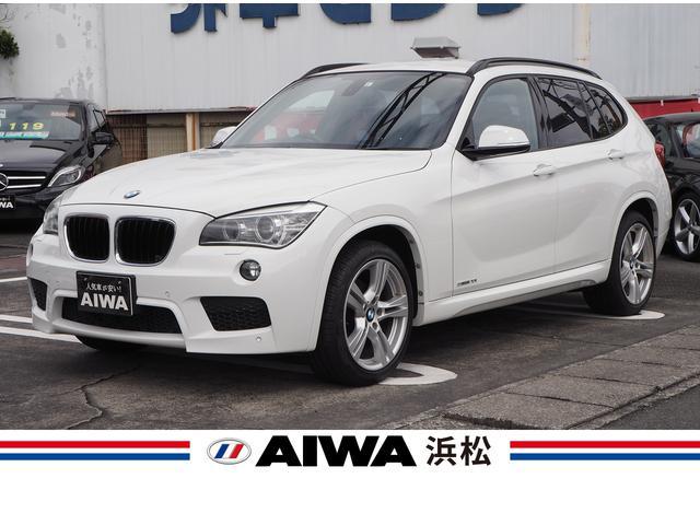 BMW X1 sDrive 20i Mスポーツ 禁煙車 純正ナビ バックカメラ クリアランスソナー キーレス スマートキー プッシュスタート キセノン Bluetooth アイドリングストップ オートライト ミラー一体型ETC USB入力端子