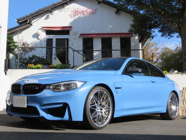 BMW M4クーペ 3.0 6MT 左ハンドル ディーラー車 ワンオーナー