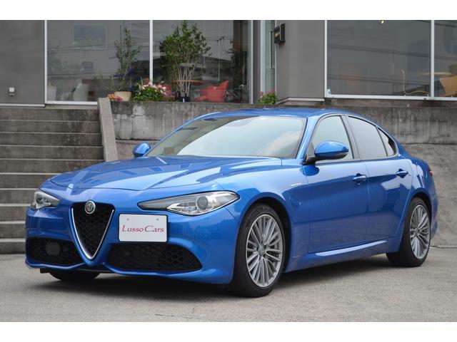 アルファロメオ ヴェローチェ 1オーナー ミサノブルー ディーラー車 新車保証継承可 下取車両 純正18インチAW