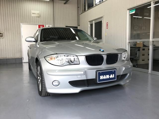 BMW 120i レザーシート ワンオーナー ガレージ保管