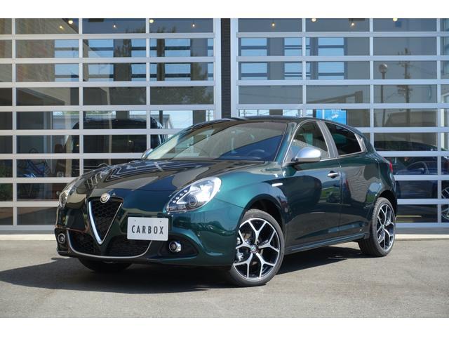 アルファロメオ ジュリエッタ  Lusso Ti 1.4 TB 日本未導入カラー シートヒーター ブラウンレザー