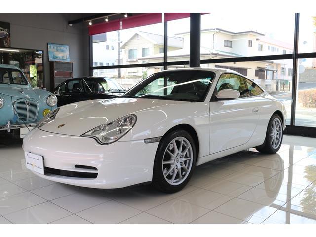 ポルシェ 911カレラ Tip ディーラー車 内装グラファイトグレー