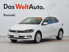 VW ポロTSIハイライン 登録済未使用車 ナビ セーフティPKG付き