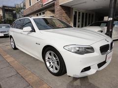 BMW523dブルーパフォーマンス ツーリングMスポーツP 黒革S