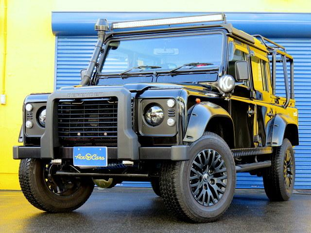 ランドローバー ブラック ピックアップ ディーゼル ディーラー車 18アルミ