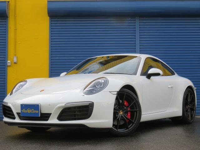 ポルシェ 911 911カレラS 黒革 シートヒーター&クーラー  スマートキー LEDヘッドライト BOSEサウンド 電格納ミラー 前後パークセンサー バックカメラ 純正20インチホイール 禁煙 ユーザー買取車輛