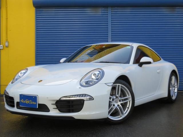 ポルシェ 911 911カレラ ディーラー車・禁煙・1オーナー・カレラレッド・シートヒーター・パワステプラス・電動格納ミラー・パークアシスト・Bluetoothメディア・地デジフルセグTV・バックカメラ・ディーラー車検整備歴3回