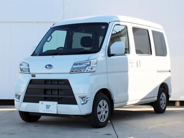 スバル サンバーバン VCスマートアシスト 社用車