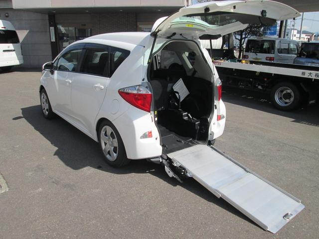 トヨタ X ウェルキャブタイプI スロープ仕様