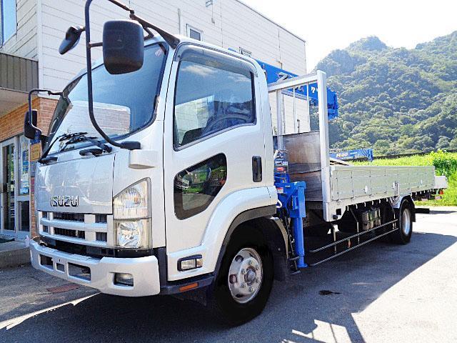 フォワード  クレーン4ダン ラジコン フックイン L540cmxW212cmxH40cm ラジコンAssy新品取付 走行距離104.800km 積載量 抹消時 2.700kg