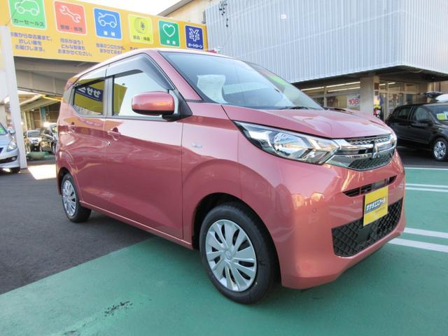 三菱 eKワゴン M 届出済未使用車 フロアマット サイドバイザー