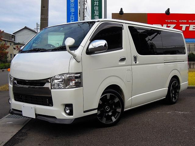 トヨタ ダークプライム 社外ナビ バックカメラ 2インチダウン