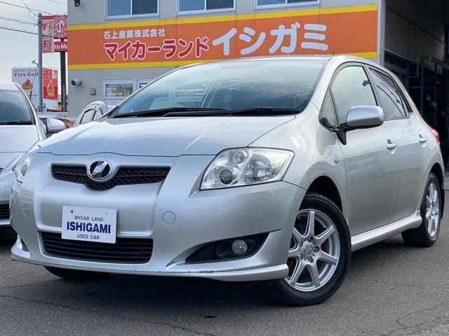 「トヨタ」「オーリス」「コンパクトカー」「北海道」の中古車