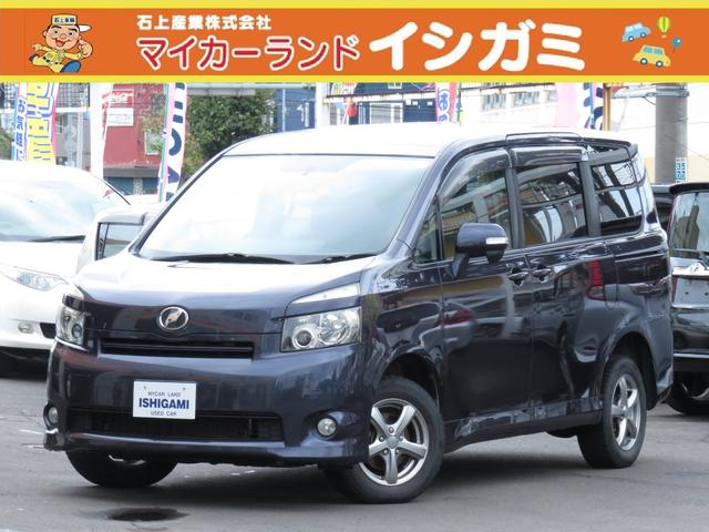 トヨタ ヴォクシー X 4WD 両側スライドドア HDDナビ Bカメラ エンスタ ドラレコ