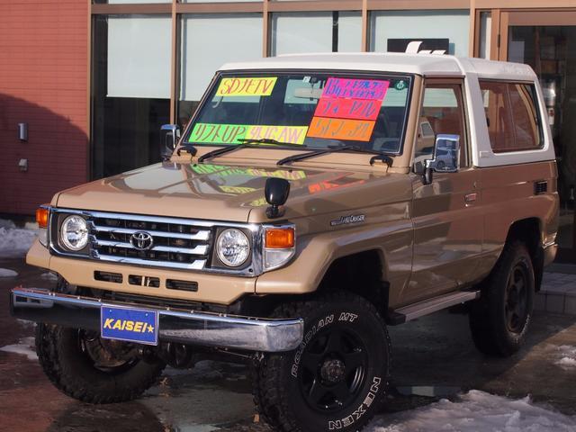 トヨタ LX 4WD ワンオーナー リフトアップ 社外16インチAW